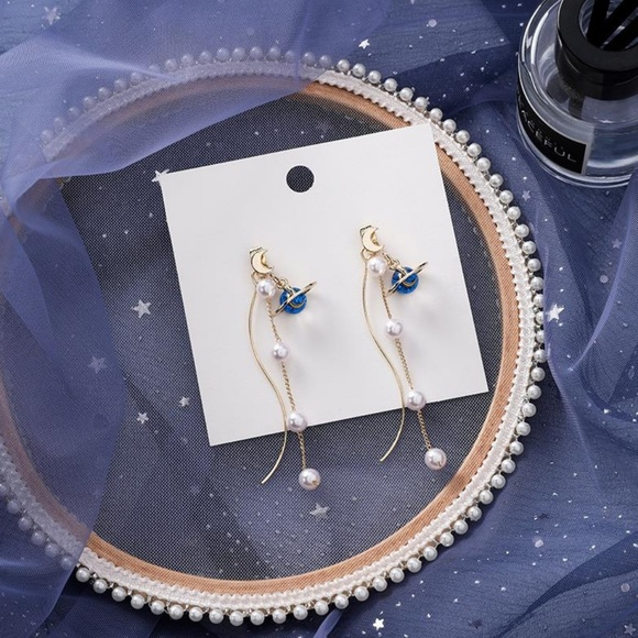 Unique Zone Jewelry - ❤️️NEW MOONLIGHT Planet Moon Handmade Earrings 27